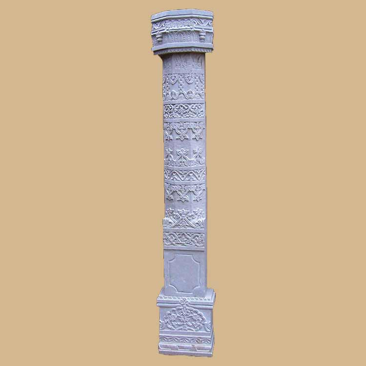 Indian traditional carved Pillars and columns