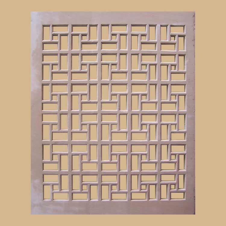 Geometric design  Screen And Jali Dholpur stone