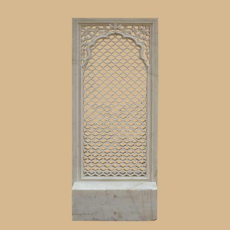 Free standing Traditional Rajasthani  style marble jali