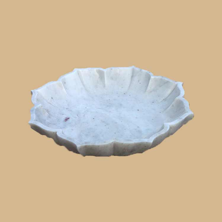 Marble Bowl Lotus for Decor