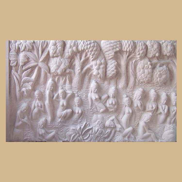Ancient Bas Relief Wall Panel
